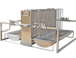spit roast barbecue vertical. Black Bedroom Furniture Sets. Home Design Ideas