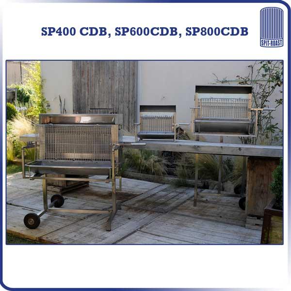 Barbecue familial à cuisson verticale 400mm