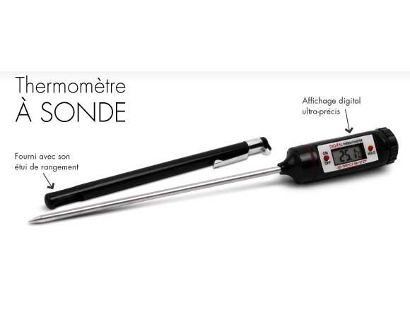 Thermometre sonde de cuisson electronique - Thermometre de cuisson darty ...