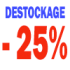 destockage 25 poucent sp400